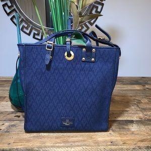 Valentino Garavani Rockstud Jacquard Shoulder Bag